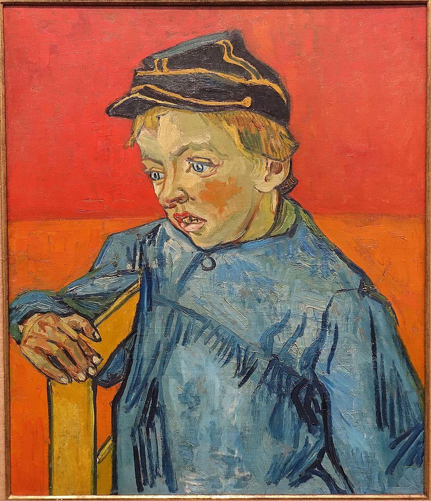 File:The Schoolboy (The Postman's Son), by Vincent van ...