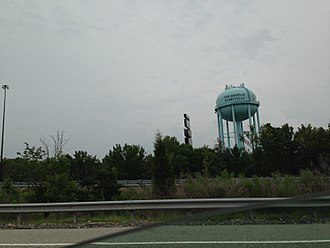 Perryville, Maryland - The tower near Perryville, Maryland.