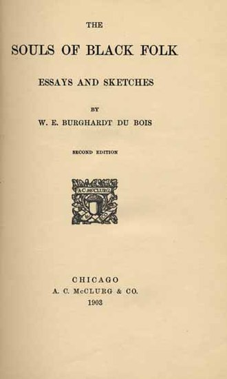The Souls of Black Folk - Title page of second edition
