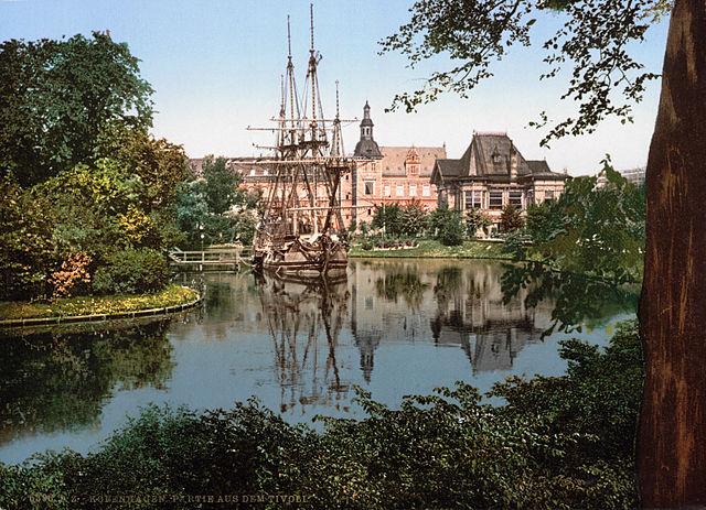 Самый известный парк развлечений Копенгагена отмечает 175-летие открытием зимнего сезона