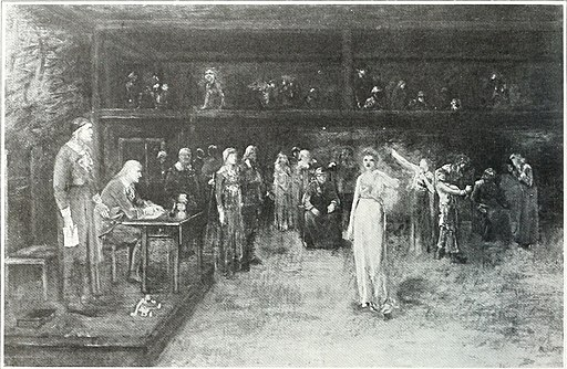 The Trial of the Salem Witches, by George Fuller