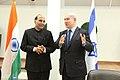 The Union Home Minister, Shri Rajnath Singh and the Israeli Prime Minister, Mr. Benjamin Netanyahu, during a meeting, at Tel Aviv, Israel on November 06, 2014.jpg
