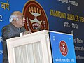 The Union Minister for Labour and Employment, Shri Mallikarjun Kharge addressing at the inauguration of the Diamond Jubilee Year of ESIC, in New Delhi on February 24, 2011.jpg