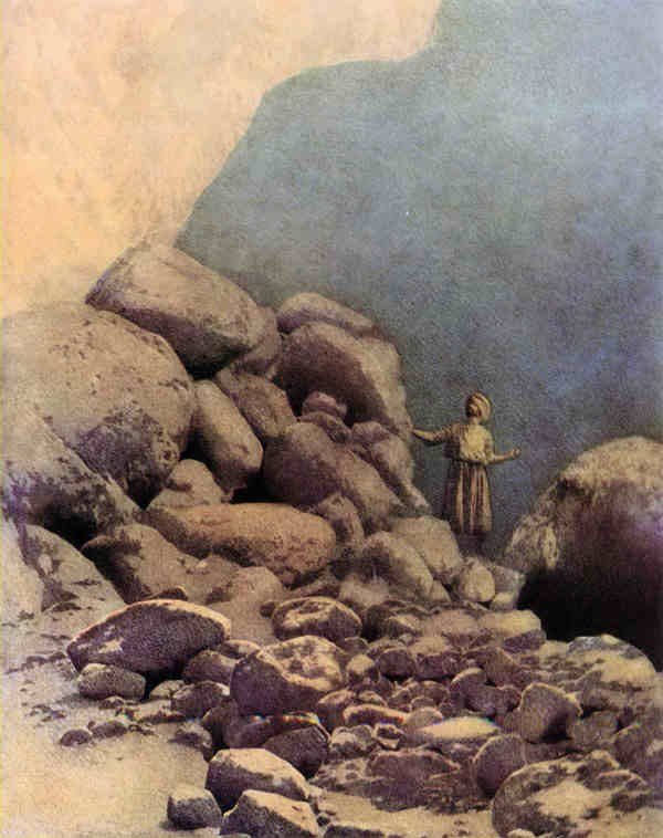 The Valley of Diamonds by Maxfield Parrish