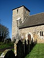 The church of St John the Evangelist - tower and S doorway - geograph.org.uk - 706479.jpg