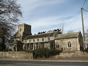 Ashill, Norfolk - Image: The church of St Nicholas geograph.org.uk 707440