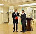 The presidents of Azerbaijan and Turkey have been awarded at Cankaya Palace 7.jpg