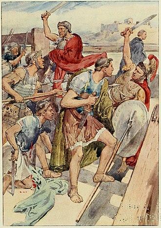 Gaius Gracchus - The pursuit of Gaius Gracchus