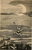 The travels and surprising adventures of Baron Munchausen; (1860) (14586237879).jpg