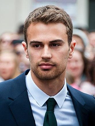 Theo James - Theo James at the Divergent premiere in Westwood, California on 18 March  2014