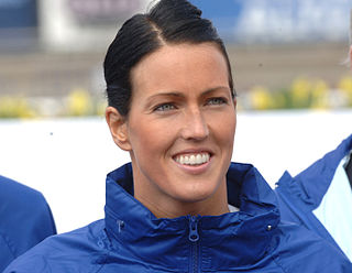 Therese Alshammar Swedish swimmer