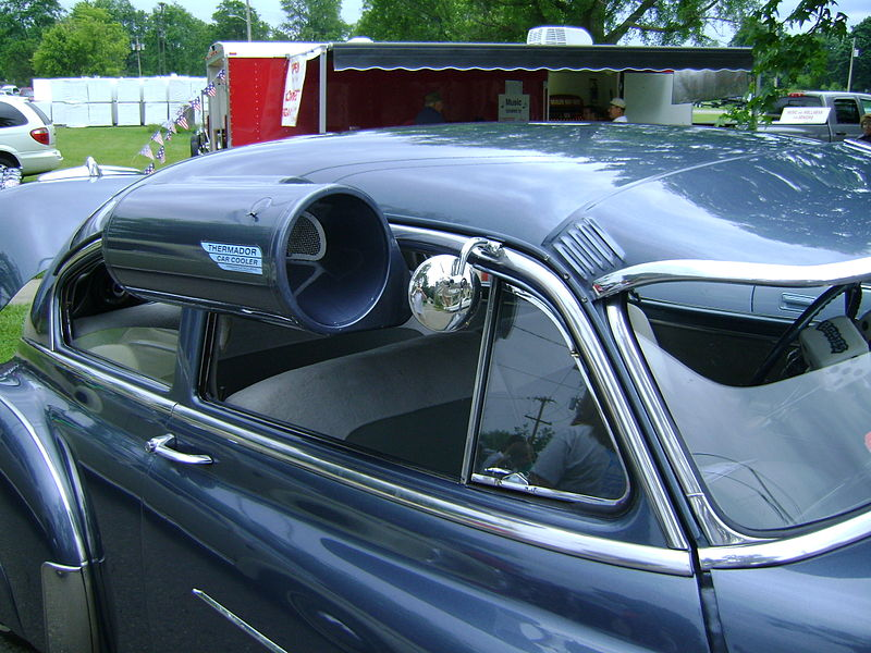 Old School Car Air Conditioner