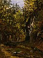 Thomas Fearnley - A Forest Road with an Altar - NG.M.00455a - National Museum of Art, Architecture and Design.jpg