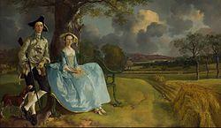 Thomas Gainsborough: Mr and Mrs Andrews