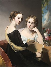 Thomas Sully Portrait of the Misses Mary and Emily McEuen LACMA M2008 222 2.jpg
