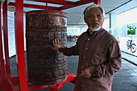 Tibetan Art Exhibition in Beijing - VOA - Li Xianting (1).jpg