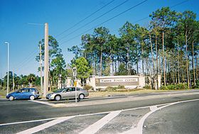 Timber Pines FL-Northwest Gate on US 19.jpg