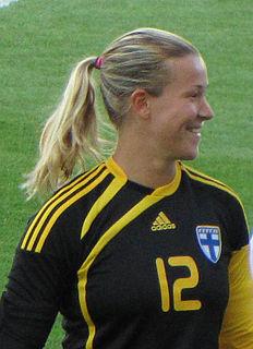 Tinja-Riikka Korpela Finnish footballer