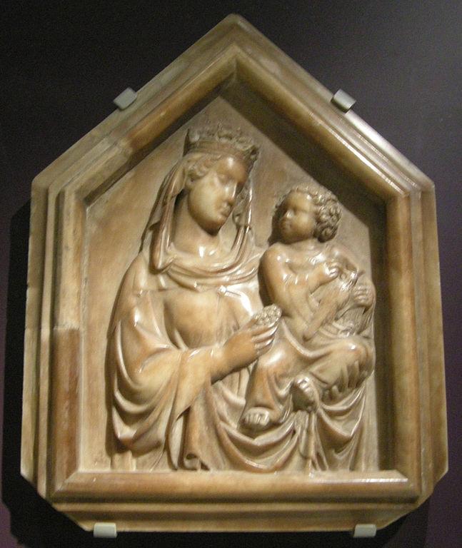File:Tino di camaino, madonna col bambino, 1330 circa.JPG ...