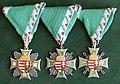 Tiszthelyettesi (zászlósi) Szolgálati Jel I.-III. fokozata, 1. tipus.jpg