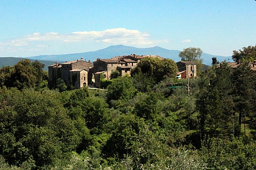 Castello di Tocchi, Monticiano