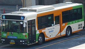 Toei Bus - Image: Toeibus S P533