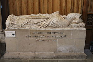 John Harewell - Tomb in Wells Cathedral