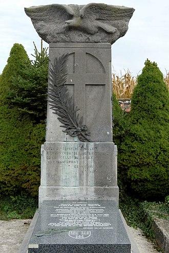 Henry de La Vaulx - Tomb of La Vaulx