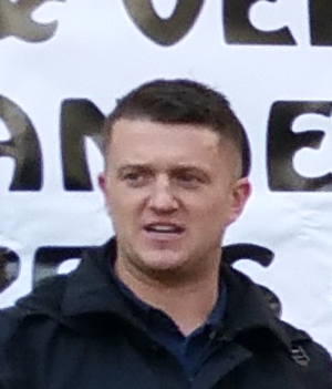 Tommy Robinson (activist) - Tommy Robinson in October 2015