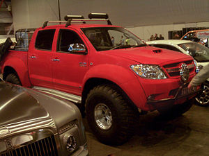 Top Gear: Polar Special - The Hilux pickup used on the expedition by Clarkson and May.