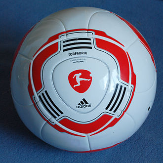 Ball (association football) - Adidas Torfabrik football used in the Bundesliga in 2011