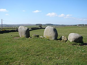 Torhouse - Image: Torhousekie Stone Row geograph.org.uk 1231667