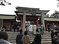 Torii and Kojumon Gate of Sumiyoshi Grand Shrine 3.jpg