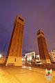 Torres d'accés al recinte de l'Exposició de 1929 (de Ramon Reventós i Farrerons) (1927-29) (02).jpg