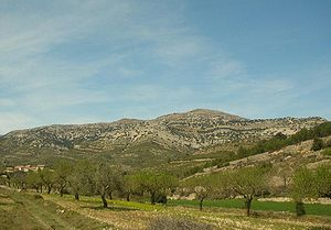 Serra d'En Celler - Tossal de la Nevera near Catí