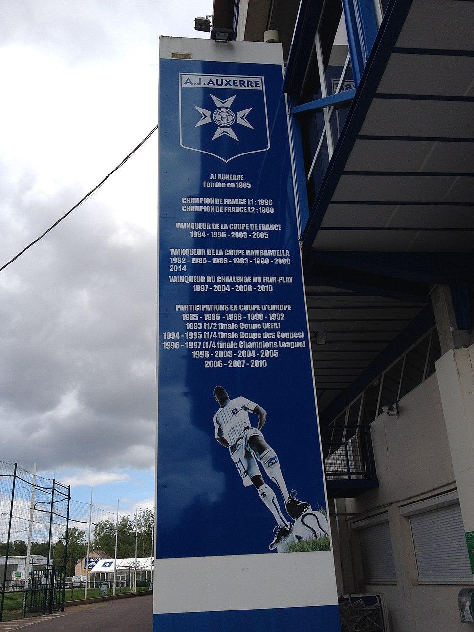 Tour Stade de l'Abbé-Deschamps