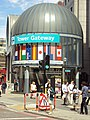 Tower Gateway DLR station entrance - DSC06951.JPG