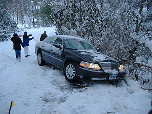 English: Taken myself during the Blizzard of 2006.