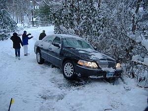 English: Taken myself during the Blizzard of 2006.