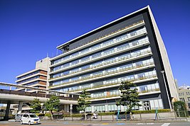 Toyota City Hall West-East Office02, Toyota 2018.jpg