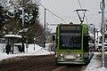 Tram in Addiscombe Road, Croydon - geograph.org.uk - 2187411.jpg
