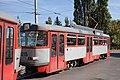 Tram in Sofia in front of Tram depot Banishora 026.jpg