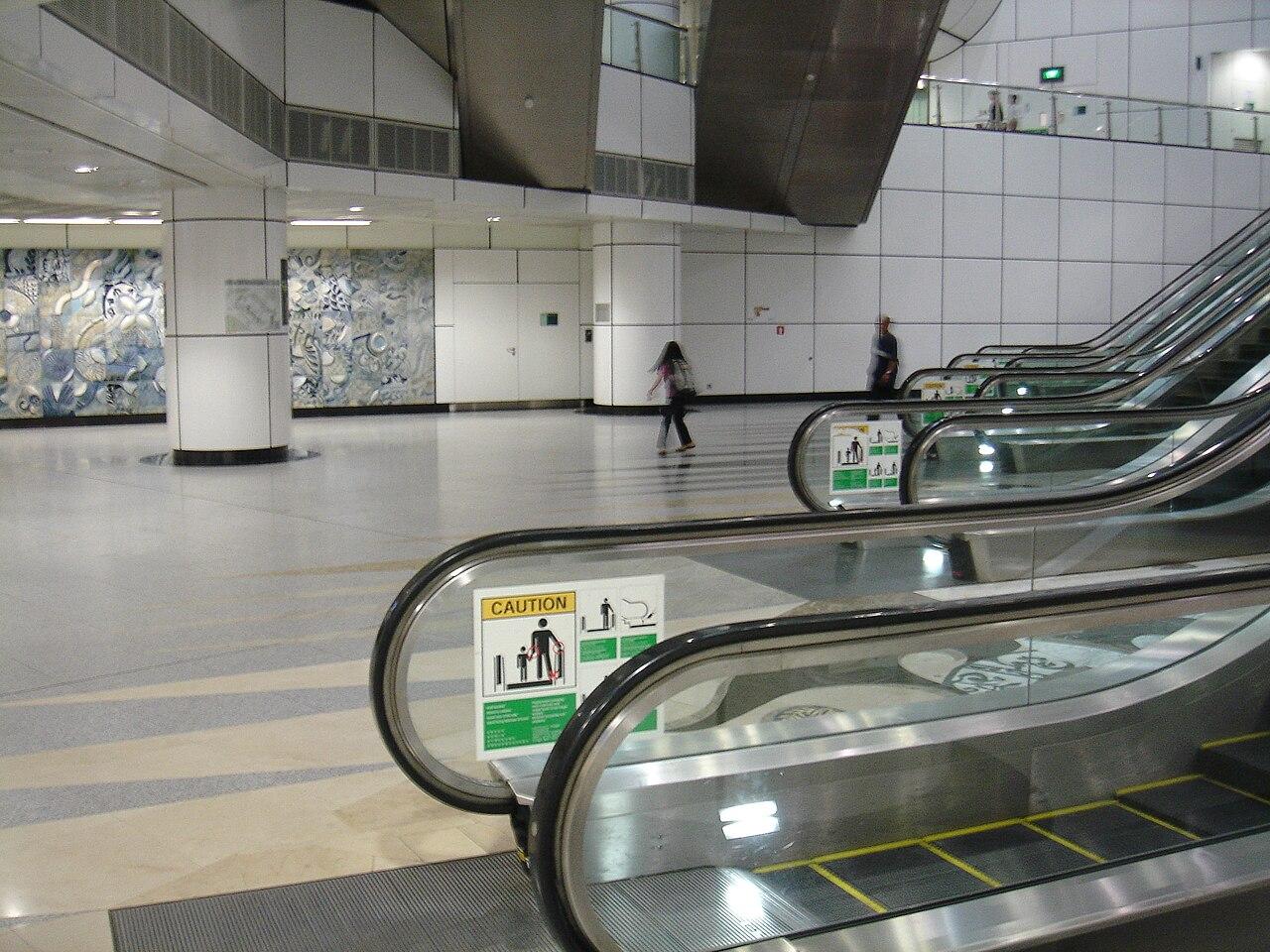 Soubor Transfer Hall Of Dhoby Ghaut Mrt Station Singapore