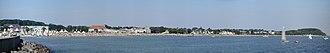 Hamburg Metropolitan Region - Image: Travemünde Bucht Panorama