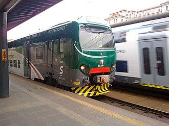 Trenord - A Trenord train at Cadorna station, Milan