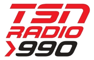 CKGM - TSN Radio 990 logo, used from October 2011 to September 2012, when it moved to 690