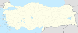 Samsun is located in Turkey