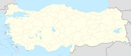 Myra is located in Turkey