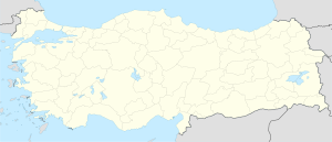 Têrcan is located in Tirkiye