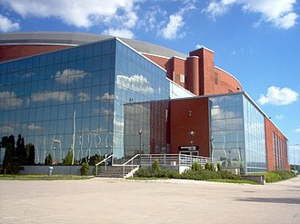 1991 Men's World Ice Hockey Championships - Image: Turkuhalli
